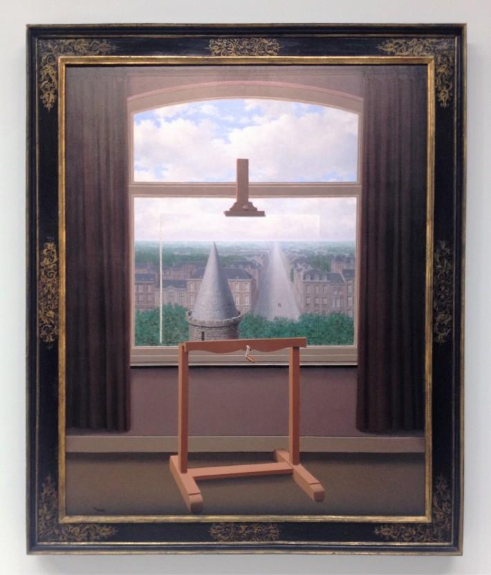 Magritte pompidou une fen tre ouverte sur l illusion for Fenetre qui fuit